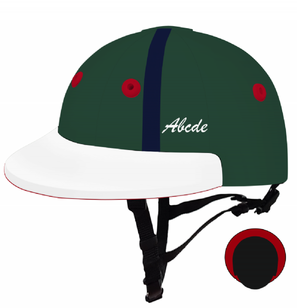 English Peak Style Helmet Polo. (x 1) (84779101-rz500svu)